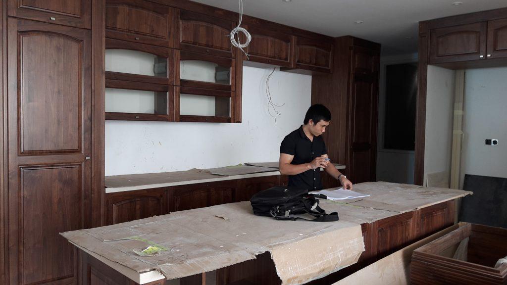 Sản phẩm nội thất gỗ óc chó tự nhiên Hoangphucwood