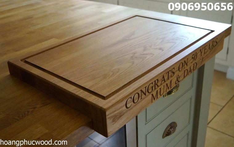 Bộ bàn ăn làm từ loại gỗ óc chó này sẽ như thế nào?