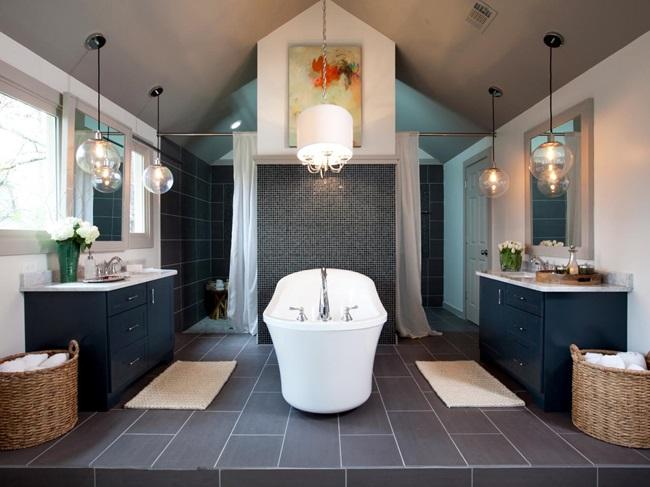 tủ phòng tắm gỗ óc chó bền đẹp