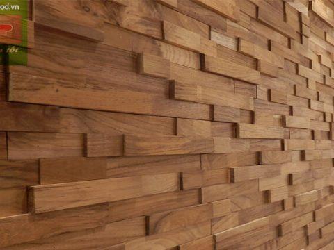 ốp vách gỗ Teak