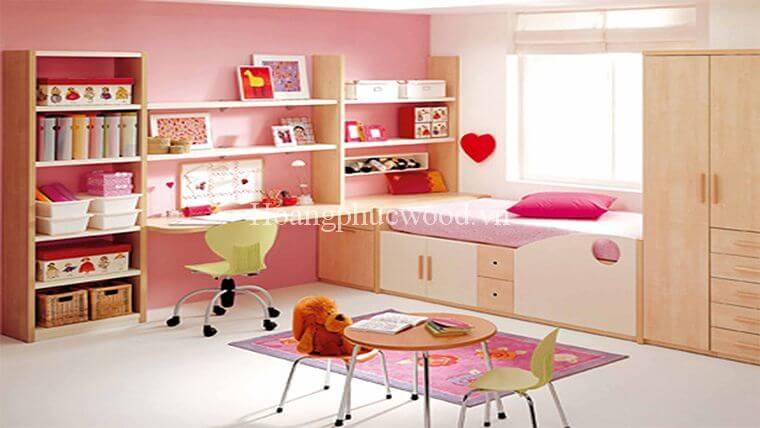 thiết kế phòng ngủ cho trẻ