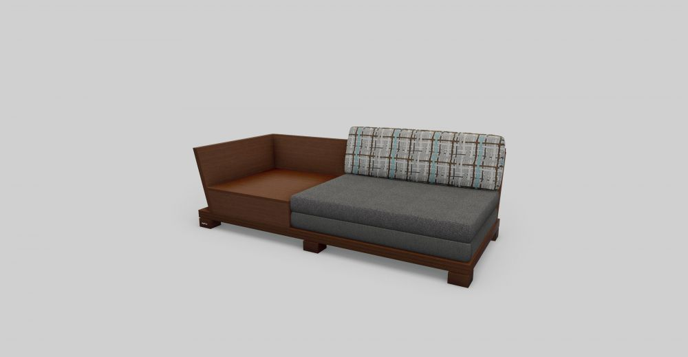 Wooden Sofa With Sub Tabs 3