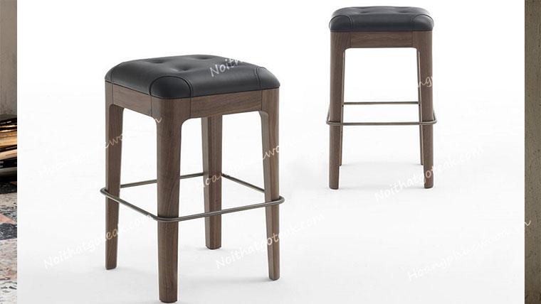 ghe bar stools go oc cho mat nem da