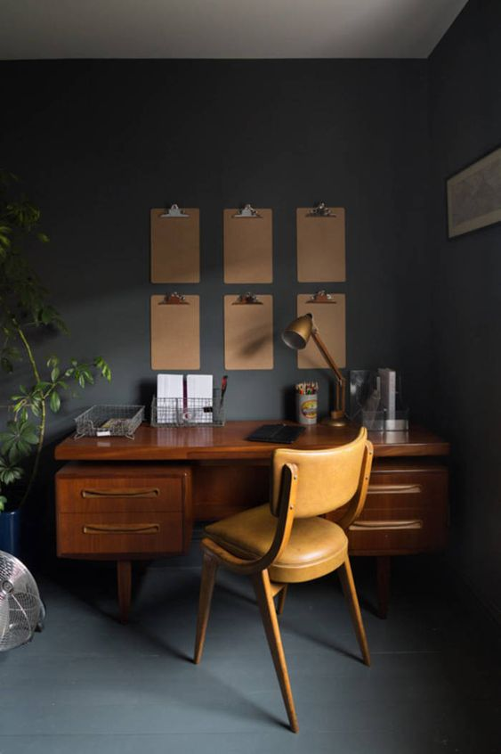 17-a-wooden-desk-a-leather-chair-and-metal-touches-are-great-for-decorating-a-mid-century-modern-space