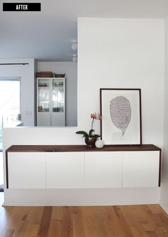 21-a-stylish-floating-console-of-a-white-dresser-with-a-dark-stained-tabletop-is-all-you-need-for-a-contemporary-entryway