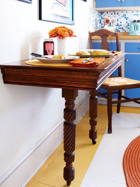 23-a-wooden-half-table-with-casters-is-a-great-idea-for-small-eat-in-kitchen-like-this-one