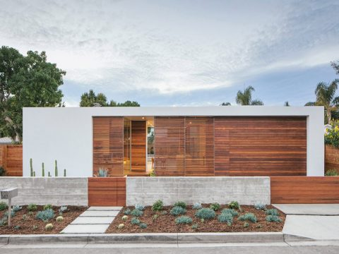 Căn nhà tối giản cho doanh nhân ở Santa Barbara.