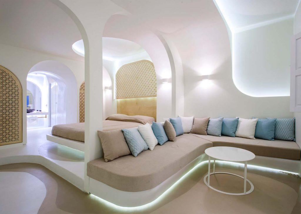 Thiết kế nội thất bo tròn cạnh