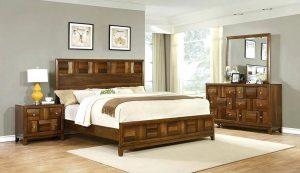Giường ngủ gỗ tự nhiên - Óc chó, wlanut