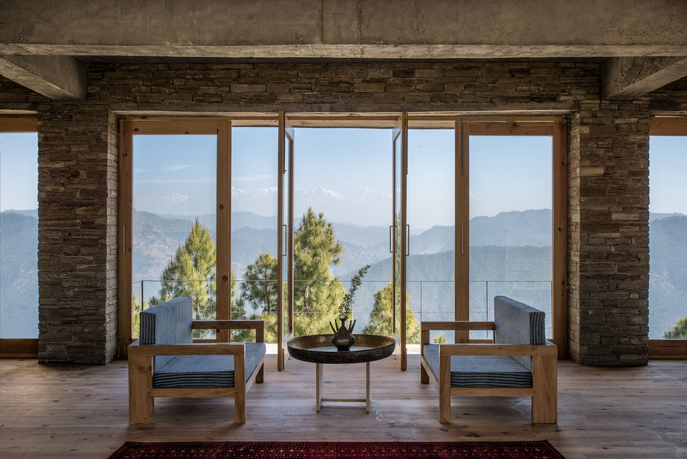 Kumaon Hotel Zowa Architecture Hotels India Mountains Dezeen 2364 Col 5