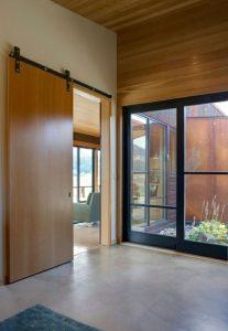 Schiebetüren Holz Moderne Innentüren Holz Gleittüren Design Idee4