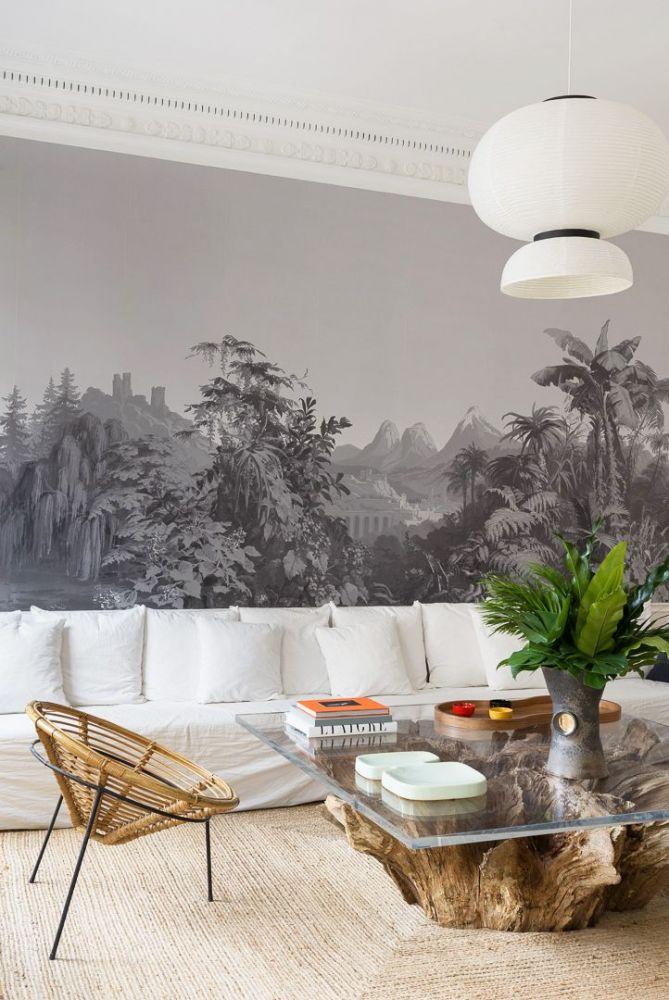 Phòng khách tối giản hiện đại