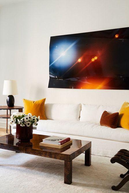 Minimalist Eclectic Living Room 1554401627