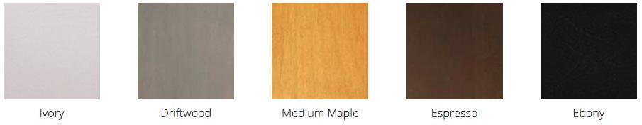 Bảng màu của gỗ Maple