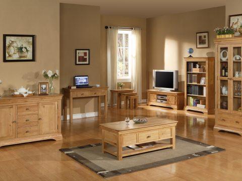 Trọn bộ nội thất gỗ sồi cao cấp.