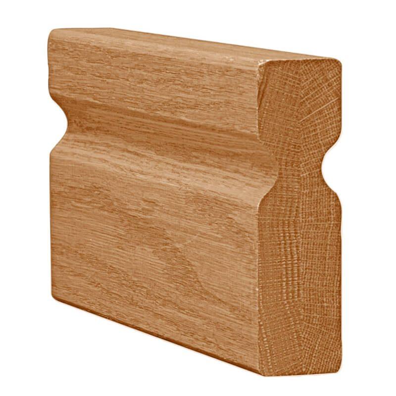 Mẫu tay vịn cầu thang gỗ Hoàng Phúc