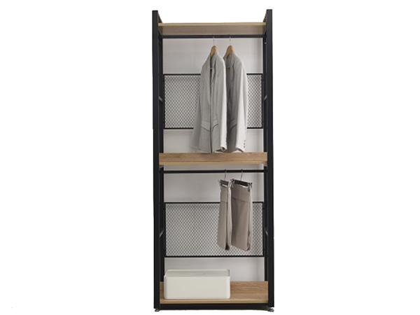 Tủ Quần áo Gỗ Khung Sắt (2)