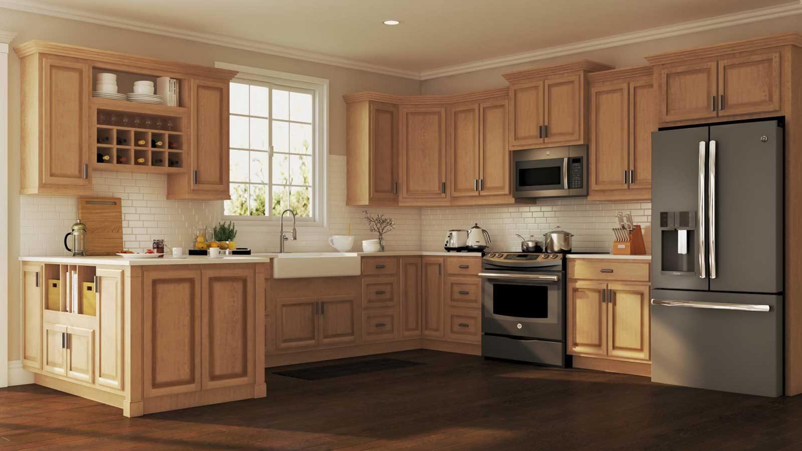 Nhà bếp gỗ Sồi