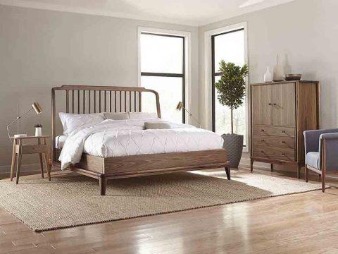 Giường Ngủ Gỗ óc Chó Grove (3)