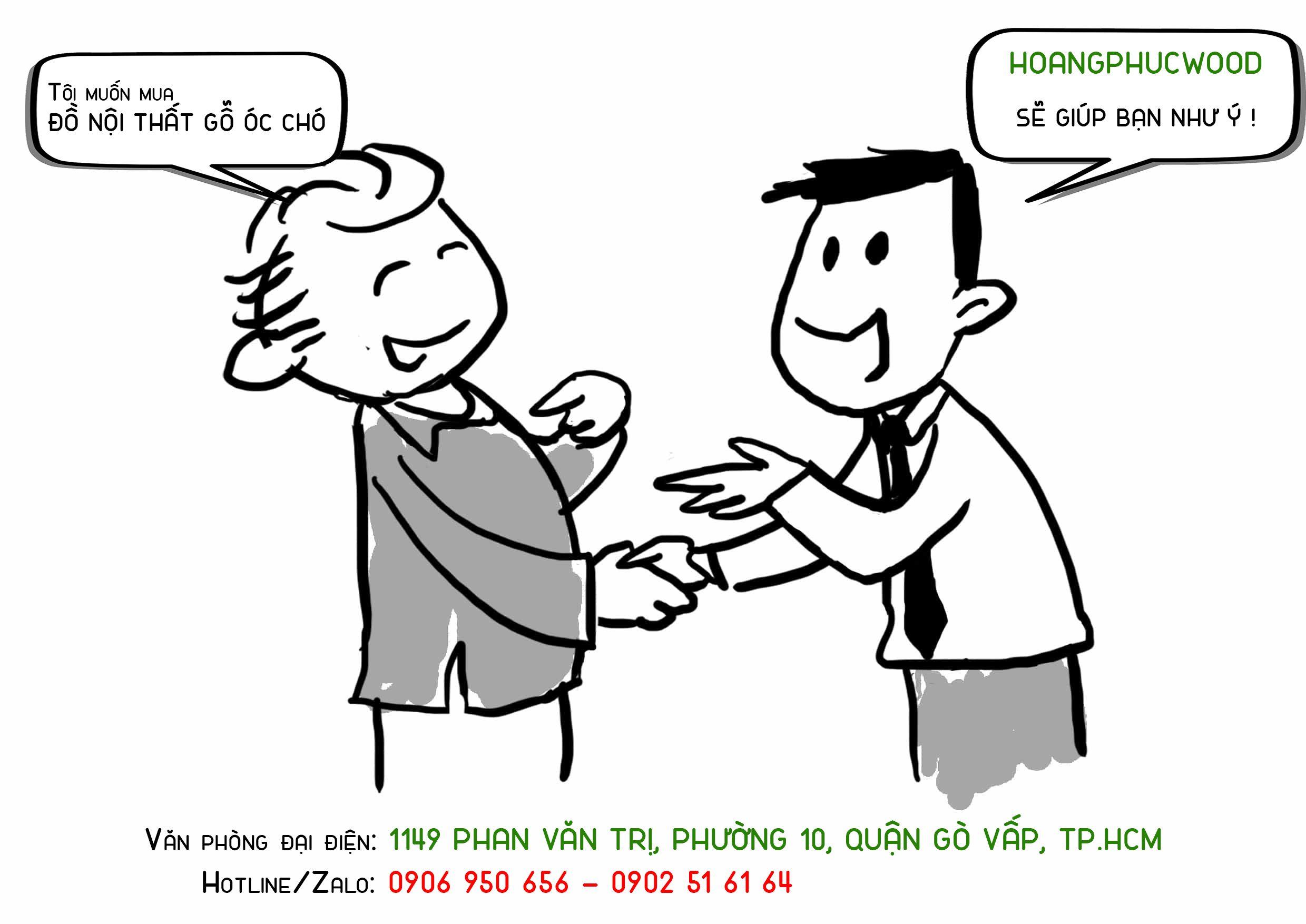 Quang Cao Noi That Go Oc Cho