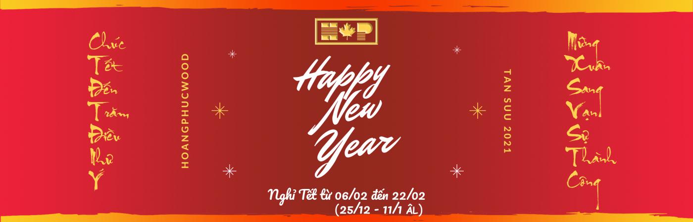 Happy New Year Banner Hpw